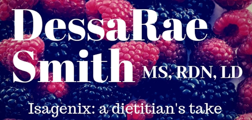 Isagenix Nutrition: A Registered Dietitian's Take