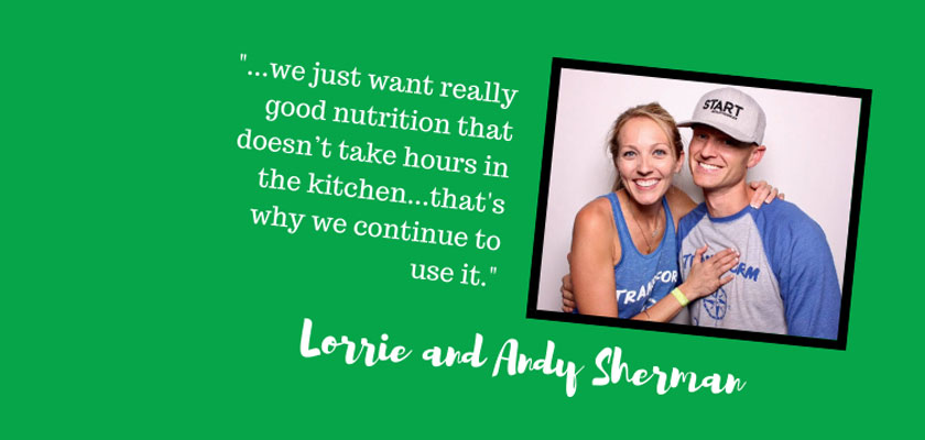 Introducing Lorrie and Andy Sherman
